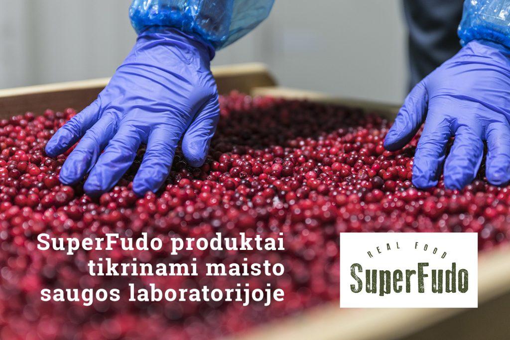 sertifikuoti superfudo maisto produktai